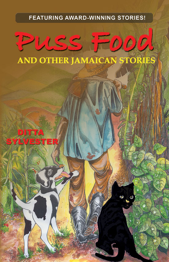 Puss food Jamaican Stories Cover