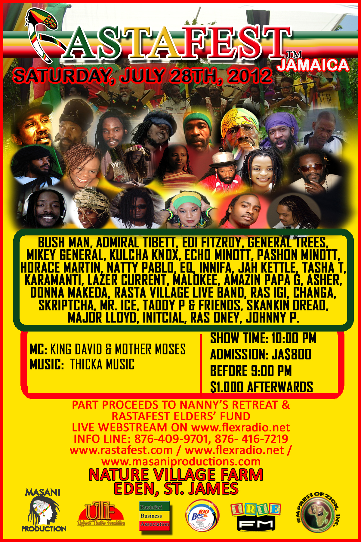ALL ROADS LEADS TO RASTA FEST JAMAICA
