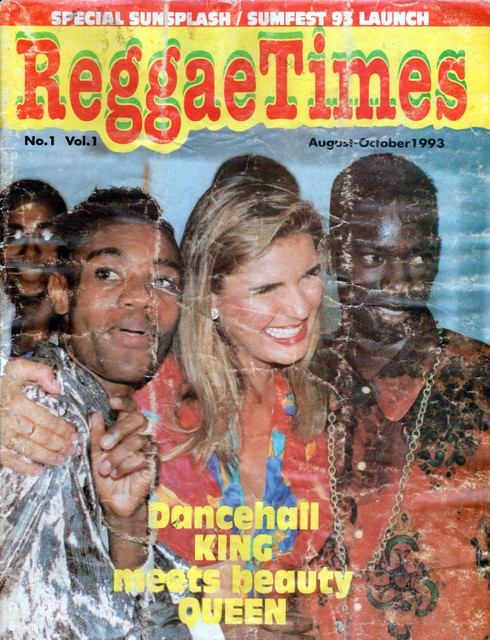Flashback Friday – Dancehall King meets Beauty Queen