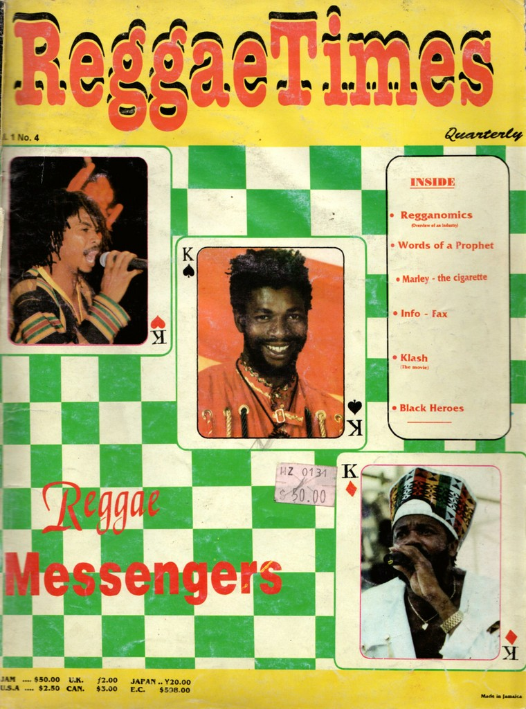 Flashback Friday – Reggae Messengers