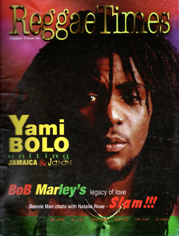 Flashback Friday – Yami Bolo uniting Reggae & Japan
