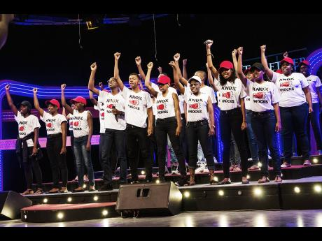 Know College 2017 All Together Sing Winner