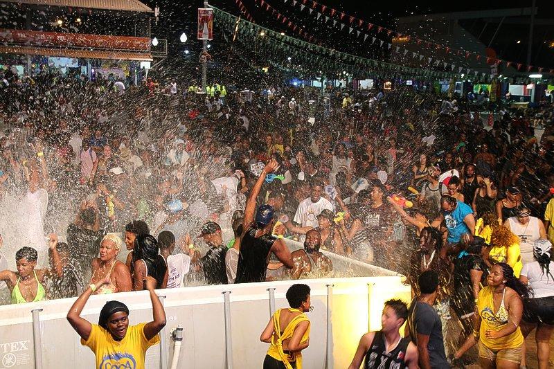 Bacchanal Wet Fete  Party