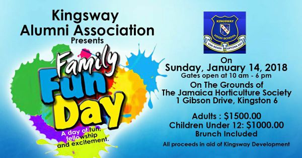 Kingsway Alumni Association Presents Family Fun Day