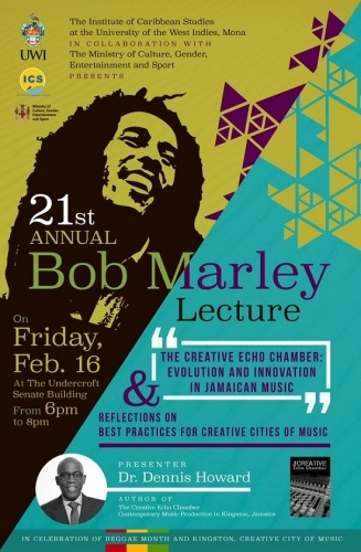 ANNUAL BOB MARLEY LECTURE