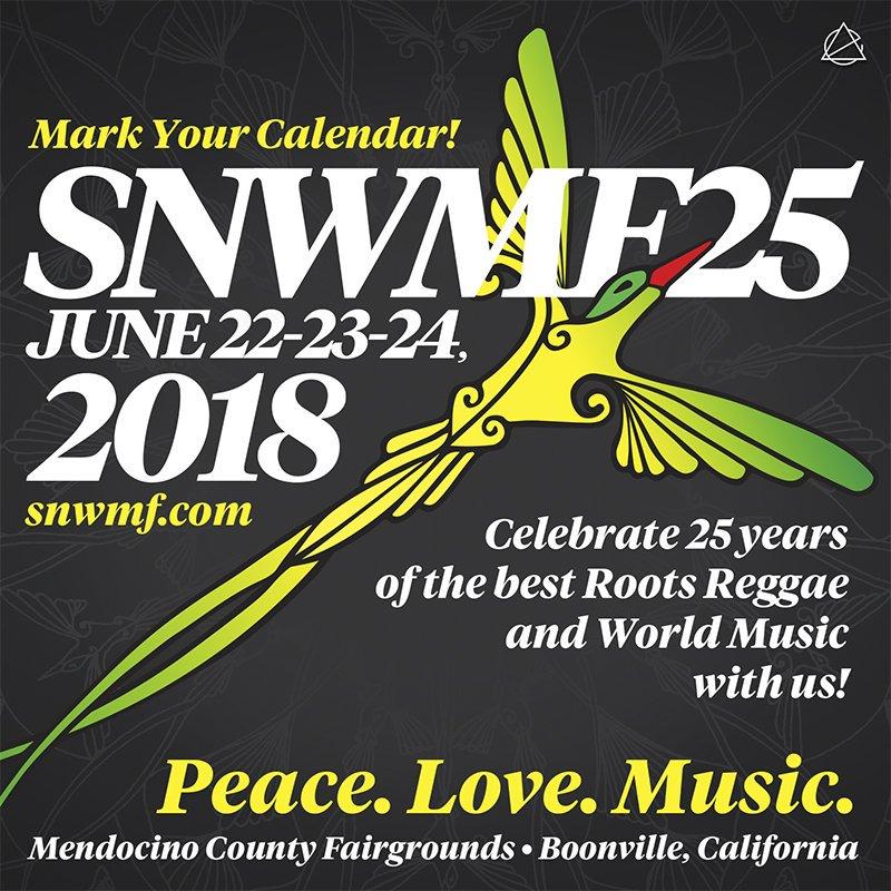 25th Annual Sierra Nevada World Music Festival