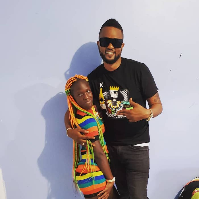 Mackerel finds love? Stunt or  true. RT Boss reveals the tee about his newfound relationship with social media personality