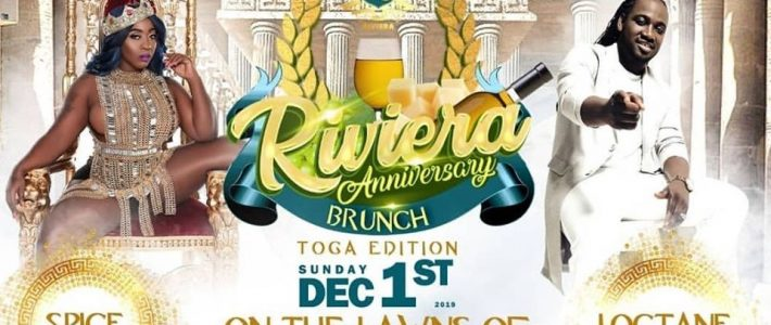 Rivera Anniversary Brunch Will be Held on Sunday, December 1, 2019, @ Sugarman Beach Hellshire at 9 am-3 pm