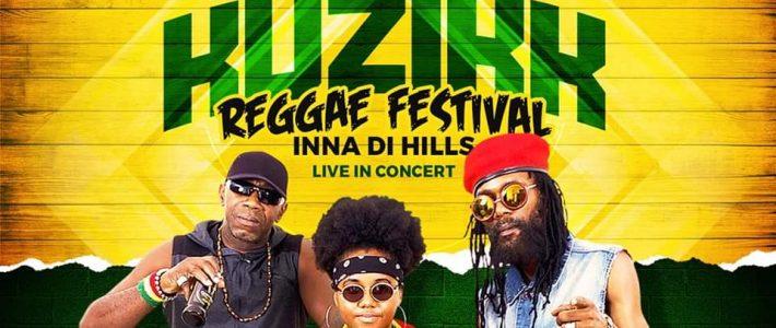 Kuzikk REGGAE FESTIVAL to be held @ Redlight District, Irish Town, Saint Andrew on Saturday, December 14, 2019, at 7 PM – 11 PM