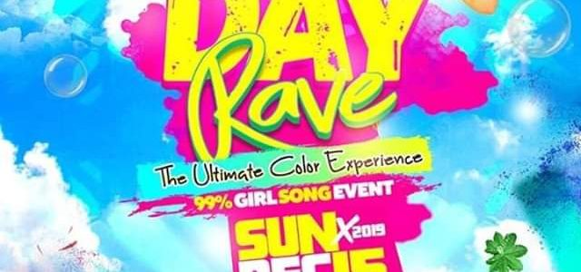 "DAY RAVE "" THE ULTIMATE COLOR EXPERIENCE """
